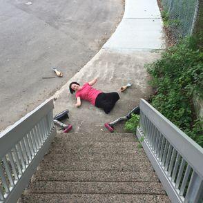 Handicap : quadruple amputée, elle poste une photo virale contre le manque d'accessibilité