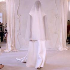 Balenciaga présente une robe de mariée pour homme et femme (et on l'adore)