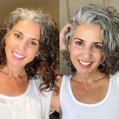Cheveux gris : n'ayez plus peur d'arrêter les colorations !