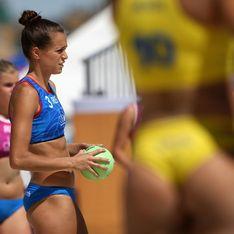 L'équipe de France de beach handball refuse aussi le bikini