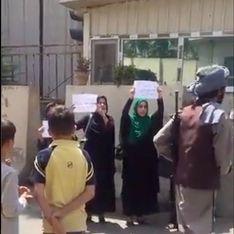 À Kaboul, cette manifestation de femmes montre le courage des Afghanes