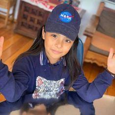 À 9 ans, Adhara a un QI supérieur à celui d'Einstein