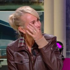 Laeticia Hallyday, invitée à Quotidien, fond en larmes dans l'émission