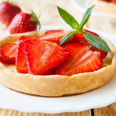 Tous en Cuisine : la tarte sablée aux fraises de Cyril Lignac