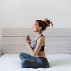 Gute-Nacht-Yoga: 7 Übungen, die beim Einschlafen helfen