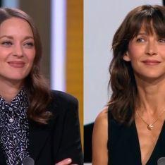 Sophie Marceau et Marion Cotillard : Ce n'est pas parce qu'on est actrices qu'on est potes