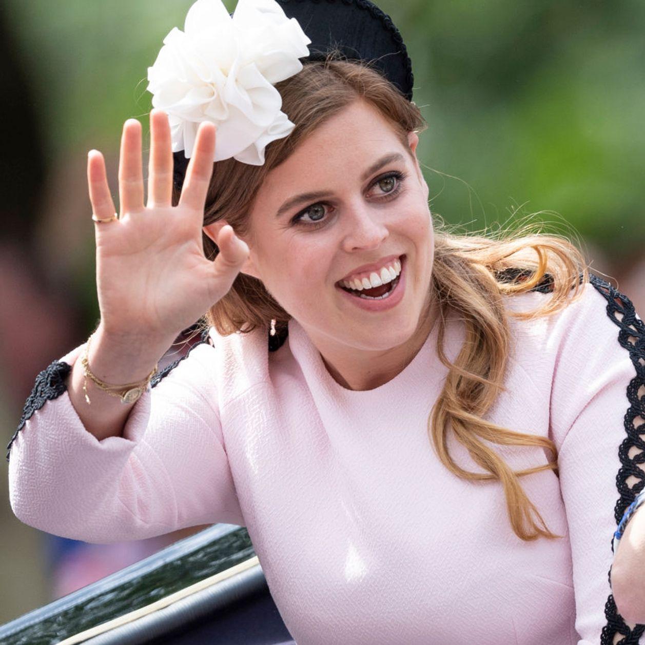 La Princesse Beatrice maman pour la première fois