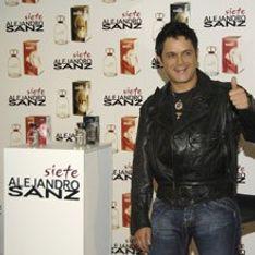Alejandro Sanz presenta su primera fragancia: Siete