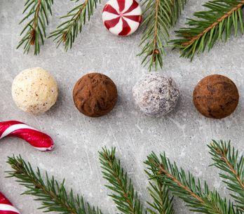 LA recette des truffes au chocolat maison faciles, et ses petites sœurs...