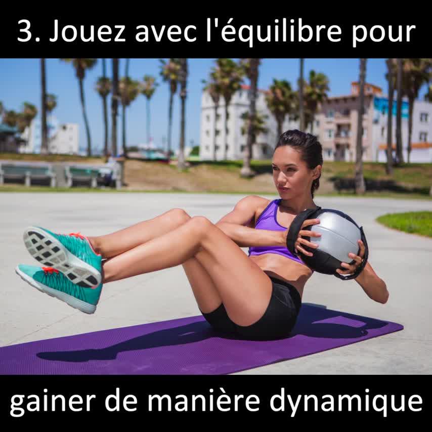 exercice ventre plat. 6 exercices d abdos pour femme   abdominaux fermes 4ec927a74d3