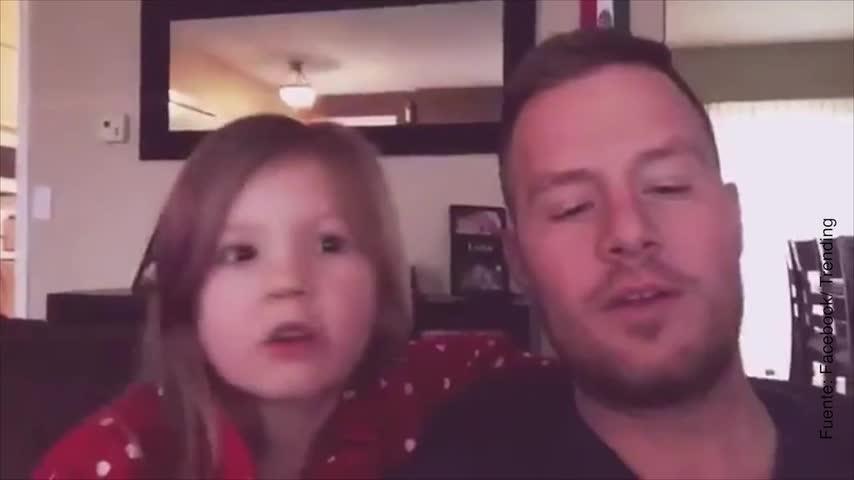 Vídeo de dúo entre padre e hija