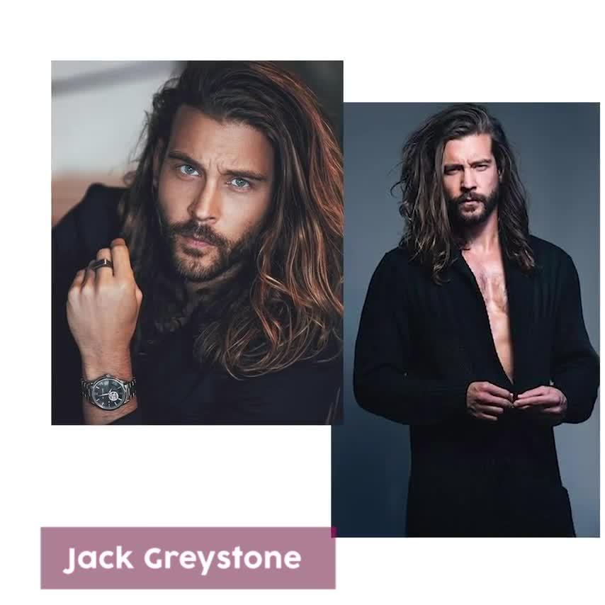 Hombres de pelo largo instagram