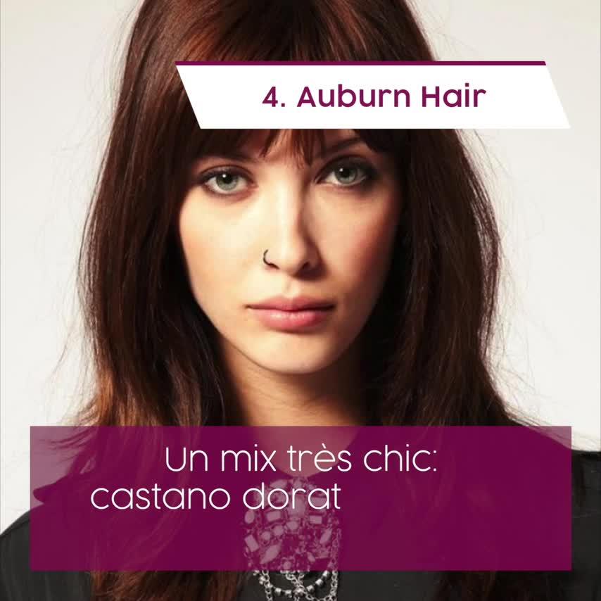 Colore capelli 2019  tinte e tendenze top dell autunno inverno! 27c418a77689