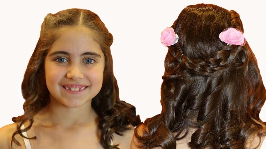 Frisur Tutorial Für Kinder Prinzessin Dornröschen